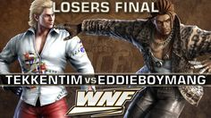 LOSERS FINAL - TekkenTim (Steve) vs. eDDIEBOYMANG (Eddy) - WNF 3.1 - Tekken 7 https://www.youtube.com/watch?v=A6vZboRKLzI&t=7s