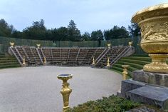 Gardens of Versailles. France. Bosquet of the Salle de Bal.