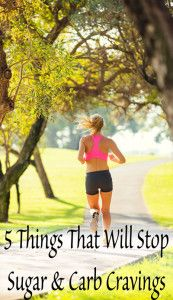 5 Things That'll Stop Carb and Sugar Cravings | healthyhabits.rocks