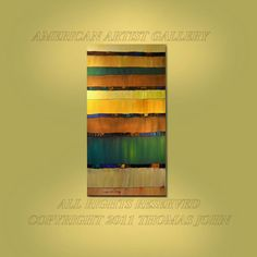 ORIGINAL ART Abstract Painting Earth Tone by americanartsgallery, $199.90