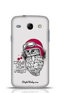 An Owl In A Motorcycle Helmet Samsung Galaxy Core i8262 Phone Case