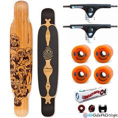 Loaded Bhandra dancing deck completa vendita online skateboard, Longboard, Carver, Surf skate
