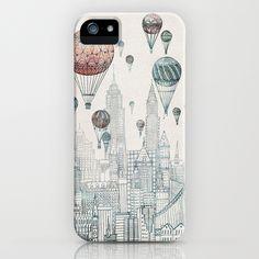 [Voyages Over New York by David Fleck]Society6(ソサエティシックス)のデザイナーズiPhoneケースです。最新のiPhone7用ケース/iPhone7 P…