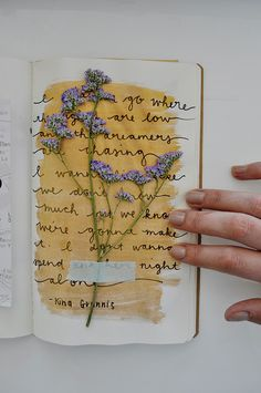 Get Messy Art Journal ♥ Caylee Grey
