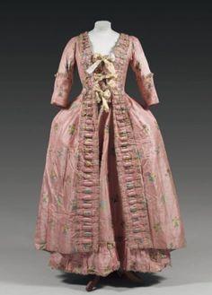 Robe à la française 1760-1770