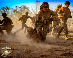 U.S. Marines with Ground Combat Element, Marine Rotational Force - Darwin, conduct offensive and defensive operations during Koolendong at Mount Bundey Training Area, Northern Territory, Australia.