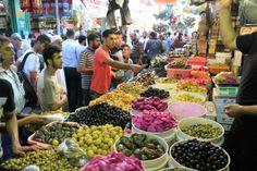 Pickles in Gaza city ( Al zawiya market )