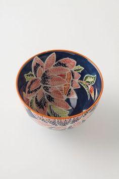 Flame Leaf Bowl
