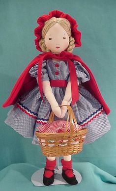EFA Little Red Riding Hood made by Carole Bailey.