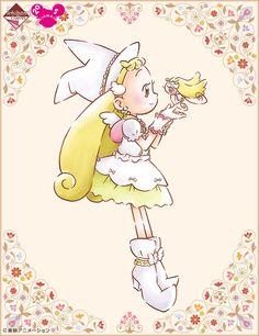 Old Anime, Manga Anime, Kawaii Girl, Kawaii Anime, Ojamajo Doremi, Pokemon, Girls With Flowers, Poses References, Aesthetic Drawing