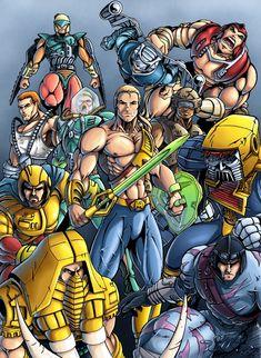 New Adventures of He-Man: Heroes