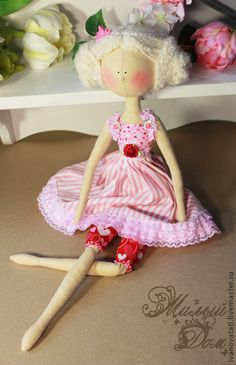 Текстильная кукла Валенти, $52