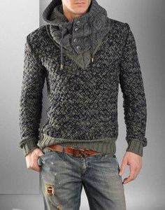 Men's Casual what a knit Looks Cool, Men Looks, Old School Style, Dolce Gabbana Online, Look Man, Sharp Dressed Man, I Dress, Knitwear, Cool Outfits