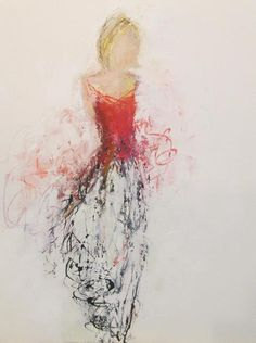 holly irwin fine art. ink and oil