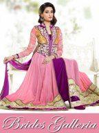 Pink Designer Anarkali Dress