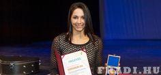 Az év sportolója - Női kézilabda-csapatunk kapitánya, Szucsánszki Zita vehette át az év sportolója díjat Kőbányán.