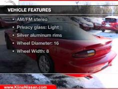 2001 Chevrolet Camero now available at Kline Nissan in Maplewood, MN.