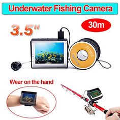 """Fishing: Blueskysea 3.5"""" Color LCD Monitor 30m Cable 1000TVL Wearable Fish Finder Underwater Video Camera Fishing Camera >>> Check this awesome product by going to the link at the image."""