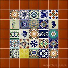 Die 33 Besten Bilder Von Bunte Fliesen Mexico Ceramic Art Und Balcony
