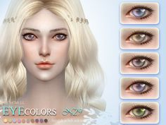 Eyecolor 29 by S-Club LL at TSR via Sims 4 Updates  Check more at http://sims4updates.net/make-up/eyecolor-29-by-s-club-ll-at-tsr/