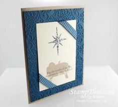 First Christmas Stampin' Up! Stamp Set