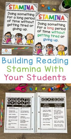 This Reading Stamina set will help build stamina with students. You will receive 32 pages of anchor charts, posters, and graphing sheets to help your kids build stamina while having fun! This product is perfect for the and grade classroom. What Is Reading, Reading Goals, Student Reading, Stamina Anchor Chart, Anchor Charts, Building Reading Stamina, Teaching Main Idea, 5th Grade Classroom, Charts And Graphs