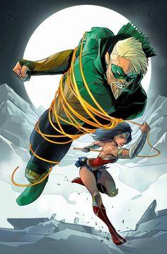 Green Arrow by Otto Schmidt