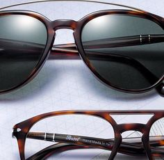 cb51cb58aa7 Double bridge is a new Persol collection those exclusive frames aspect is  inspired by fine architecture.