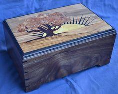 Sunrise custom marquetry man box. Custom made by dchenoweth@charter.net