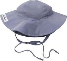 Amazon.com: UPF 50+ Floppy Hat | Chambray Small: Infant And Toddler Hats: Clothing