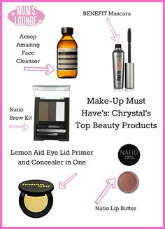Make-Up Must Have's: Top Beauty Products #makeup #beautysecrets