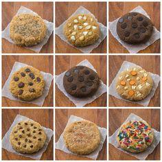 single serving protein cookie - coconut flour + protein powder base