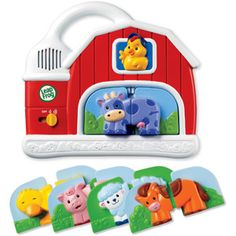 Leapfrog Fridge Farm Magnetic Animal Set. Need to find this for easton for Christmas!!