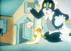 """""""Baby Puss"""" Tom and Jerry"""