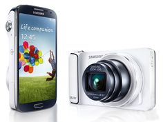 Samsung Galaxy S4 Zoom – 8 GB in white. This Samsung smartphone is in one unity with Samsung Camera. Equipped with Android Jelly Bean, with 3G and Wi-Fi. http://zocko.it/LDUKO