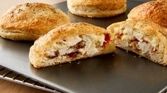 Stuff biscuits with chicken, bacon and lots of gooey cheese, then season with ranch, for a tasty dinner the whole family can enjoy!