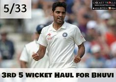 #INDvsWI #WIvsIND #3rdTest #TeamIndia #BhuvneshwarKumar  Congratulations Bhuvneshwar Kumar  West Indies bowled out for 225 in 1st Inngs. India : 353 (1st Inngs.) - http://ift.tt/1ZZ3e4d