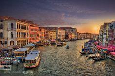 Venice Night by winstonoboogie - Pinned by Mak Khalaf