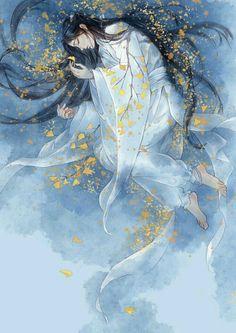 Judul : The Blind Concubine 瞎娘娘 Xia Niangniang Author : Xi Ni 洗 泥 S… # Acak # amreading # books # wattpad Chinese Drawings, Chinese Art, Art Drawings, Chinese Style, Art And Illustration, Art Chinois, Art Asiatique, Art Japonais, Beautiful Artwork