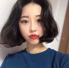 Ulzzang Short Hair, Korean Short Hair, Ulzzang Girl, Hair Inspo, Hair Inspiration, Shirt Hair, Look Cool, Hair Looks, Short Hair Styles