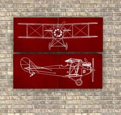 Airplane Prints set of 4 pieces, Red Airplane set, Nursery Art Decor, Aviation Poster, Transportation print, Vintage Airplane print by CavaDesign on Etsy https://www.etsy.com/listing/179610409/airplane-prints-set-of-4-pieces-red