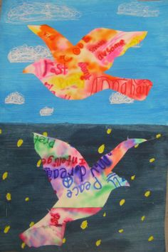In the Art Room: The Magritte Project, Three - Cassie Stephens, gemengde technieken. Rene Magritte, 3rd Grade Art Lesson, Art Lessons Elementary, Middle School Art, Cassie Stephens, Art Lesson Plans, Art Classroom, Art Plastique, Art Activities