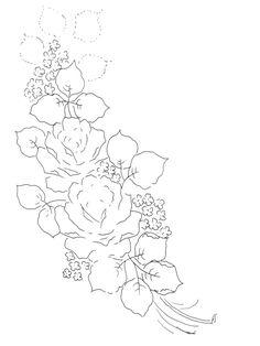 Riscos - Flores 27 Impressão e Download.gif (827×1102)