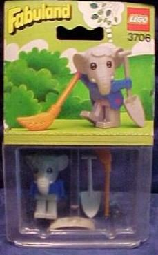 Fabuland, Elmer the Elephant, 1982. I'm sure I had one of these!