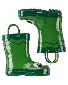 Baby Boy Western Chief Frog Rain Boots from OshKosh B'gosh. Shop clothing &…