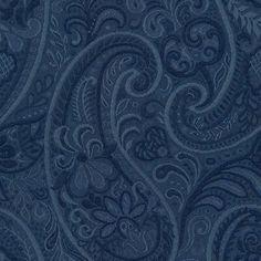Paisley Fabric, Navy Fabric, Drapery Fabric, Pillow Fabric, Curtains, Paisley Pattern, Cotton Fabric, Paisley Wallpaper, Of Wallpaper