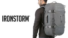The IRONSTORM bag from Maxpedition's Advanced Gear Research is perfect for adventure travel. See all its features in the video!