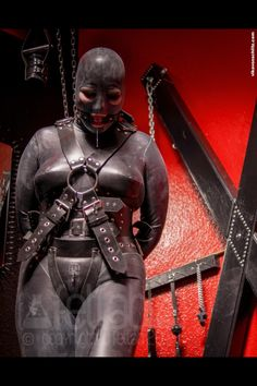 Access Denied, Rubber Maid In Training : Photo