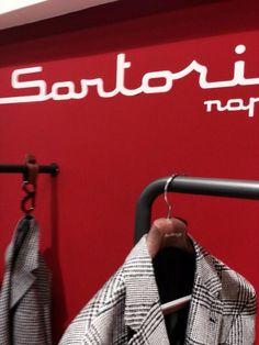#pittiuomo2015 Sartorio Napoli Italian passion is red TSuMisura hangers