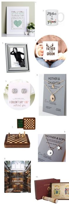 13 Thoughtful Wedding Gifts for Parents | Pinterest | Parents, Dads ...